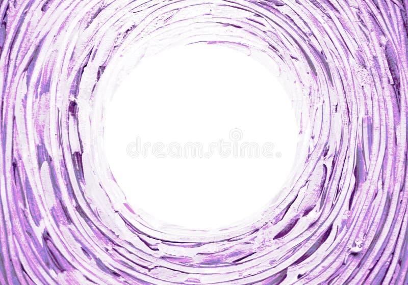 Abstrakter heller Hintergrund Konzentrisch, Spirale, verdrehend, streicht drehende Bürste Linien mit Raum für Ihren Text lizenzfreie abbildung