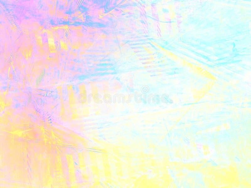 Abstrakter heller Schmutzhintergrund mit Fractalmuster lizenzfreie abbildung