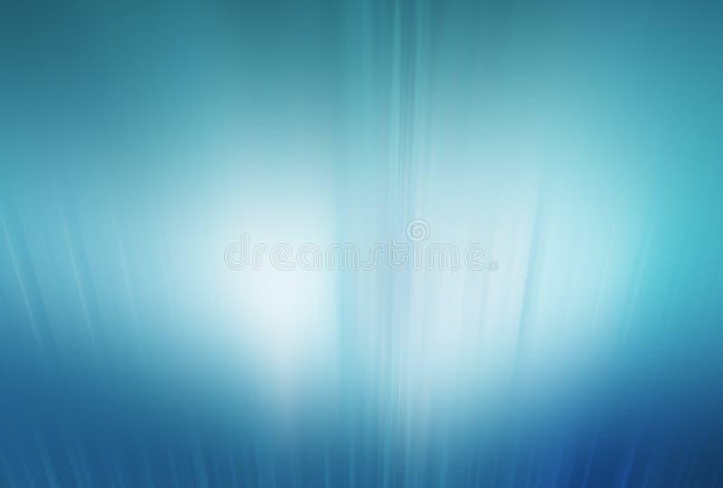 Abstrakter High-Techer Hintergrund, helle Strahlen, die von der Unterseite aufkommen lizenzfreie abbildung