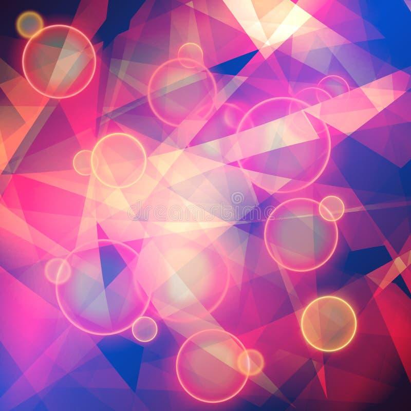 Download Abstrakter Hintergrund stock abbildung. Illustration von effekt - 27734539