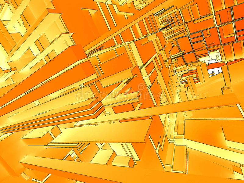 Abstrakter Hintergrund 3d lizenzfreie abbildung