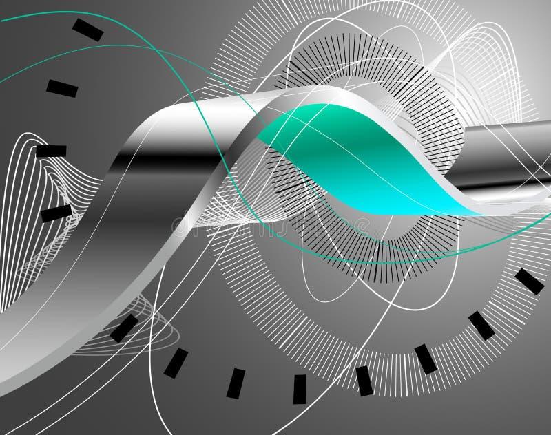 abstrakter Hintergrund 3d vektor abbildung