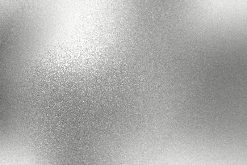 Abstrakter Hintergrund, Chrom-Metallbeschaffenheit der Reflexion raue vektor abbildung