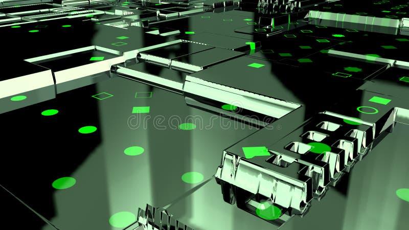 abstrakter Hintergrund 3d render lizenzfreies stockfoto
