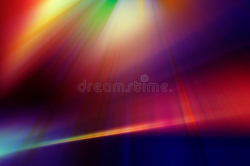 Abstrakter Hintergrund in den roten, blauen, purpurroten und gelben Farben lizenzfreie abbildung