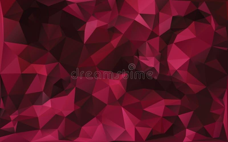 Abstrakter Hintergrund in den roten Tönen vektor abbildung
