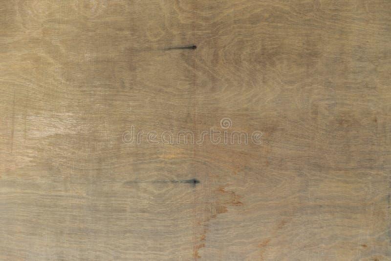 Abstrakter Hintergrund der alten Sperrholzbeschaffenheit mit Fleck lizenzfreie stockfotos
