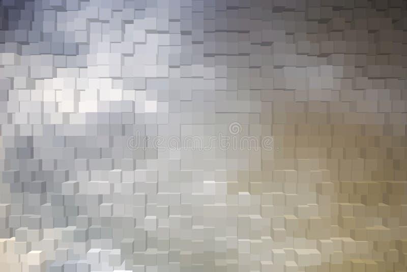 Abstrakter Hintergrund der Blöcke 3d stockfotos