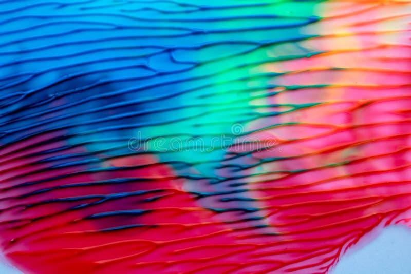 Abstrakter Hintergrund der Farbaquarell-Zeichnungen vektor abbildung