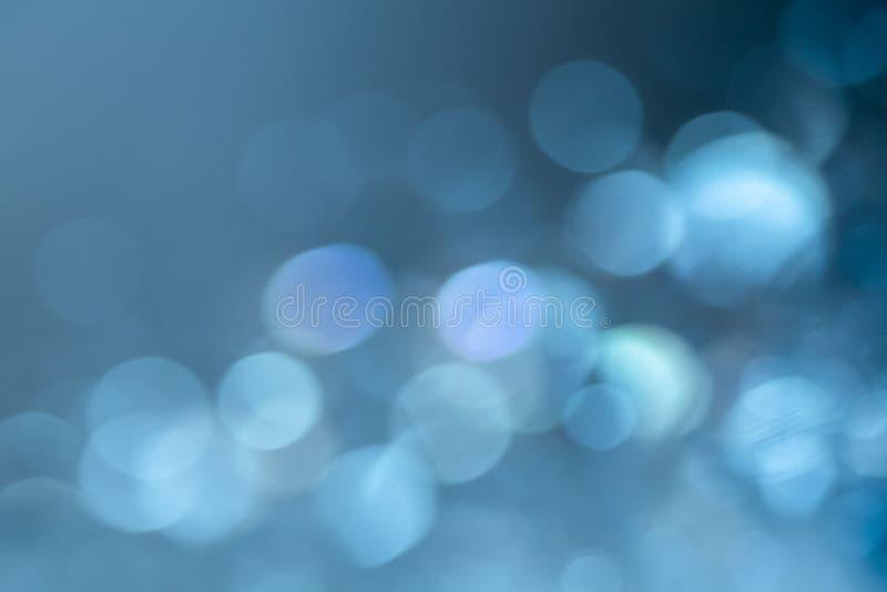 Abstrakter Hintergrund der Glitterie in hellblauen Tönen lizenzfreies stockfoto