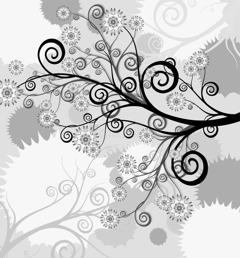 Abstrakter Hintergrund der Natur, Natur blüht stock abbildung