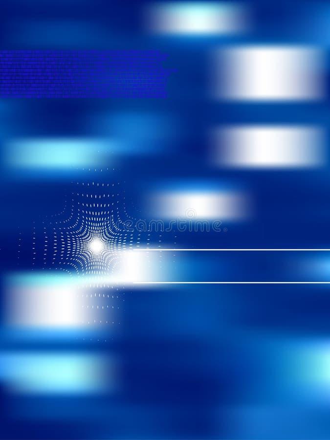 Abstrakter Hintergrund der Technologie, Vektor lizenzfreie abbildung
