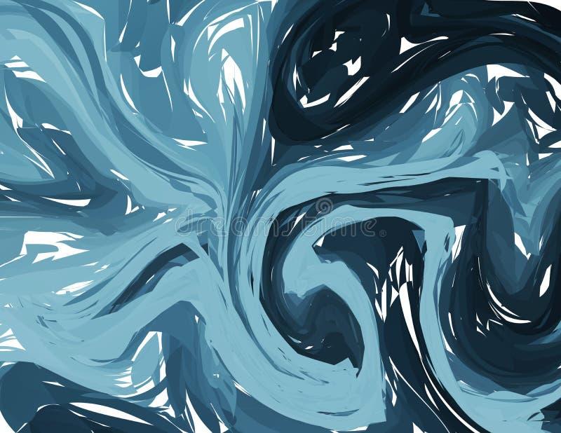 Abstrakter Hintergrund der Vektormarmor-Beschaffenheit Marmornde Technik des Vektors Färbungsbeschaffenheitssammlung für Ihren En lizenzfreie abbildung