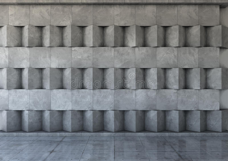 Abstrakter Hintergrund des Betons stock abbildung
