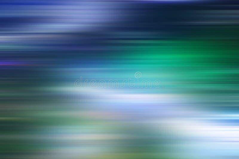 Abstrakter Hintergrund des blauen Grüns stock abbildung