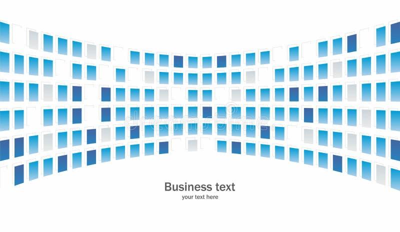 Abstrakter Hintergrund des Geschäfts lizenzfreie abbildung