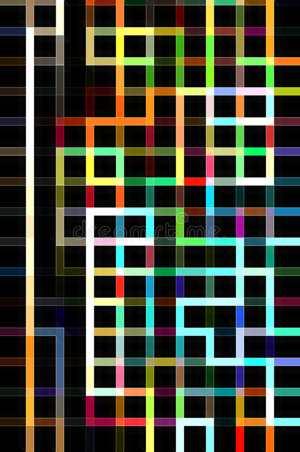 Abstrakter Hintergrund des Labyrinths lizenzfreie stockfotografie