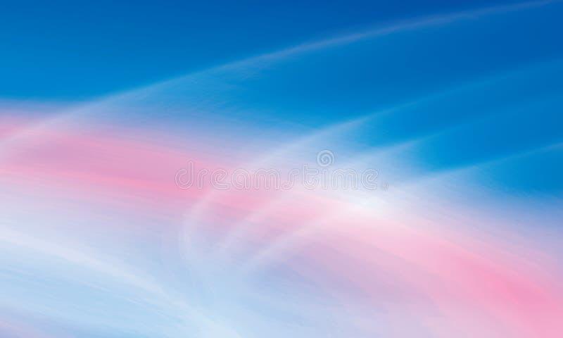 Abstrakter Hintergrund des Regenbogens lizenzfreie abbildung