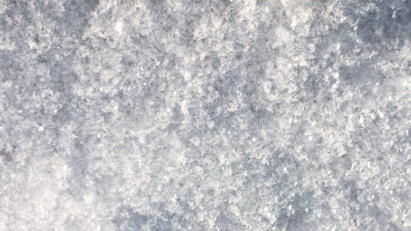 Abstrakter Hintergrund des Schnees lizenzfreie stockfotos