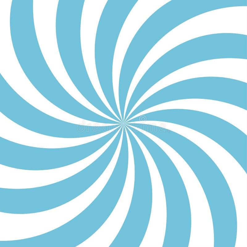 Abstrakter Hintergrund des Sonnenlichts Blauer Farbexplosionshintergrund Auch im corel abgehobenen Betrag stockfoto