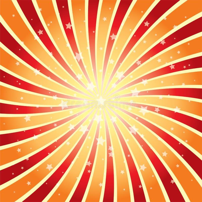 Abstrakter Hintergrund des Sternimpulses lizenzfreie abbildung