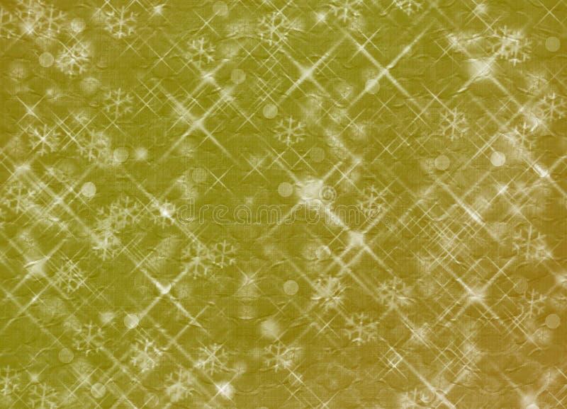 Abstrakter Hintergrund des Winters, Weihnachtssterne lizenzfreie abbildung