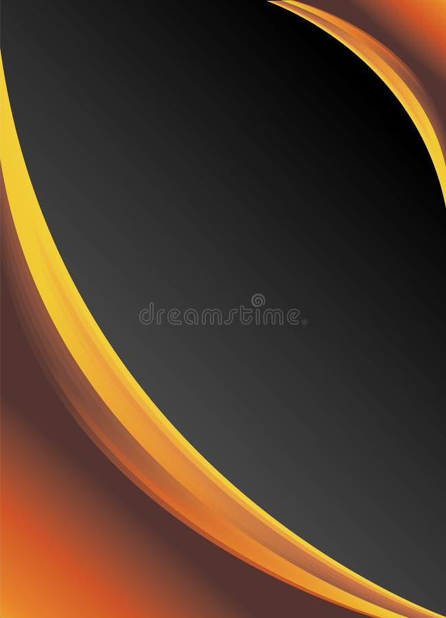 Abstrakter Hintergrund - dunkler Aufbau stock abbildung