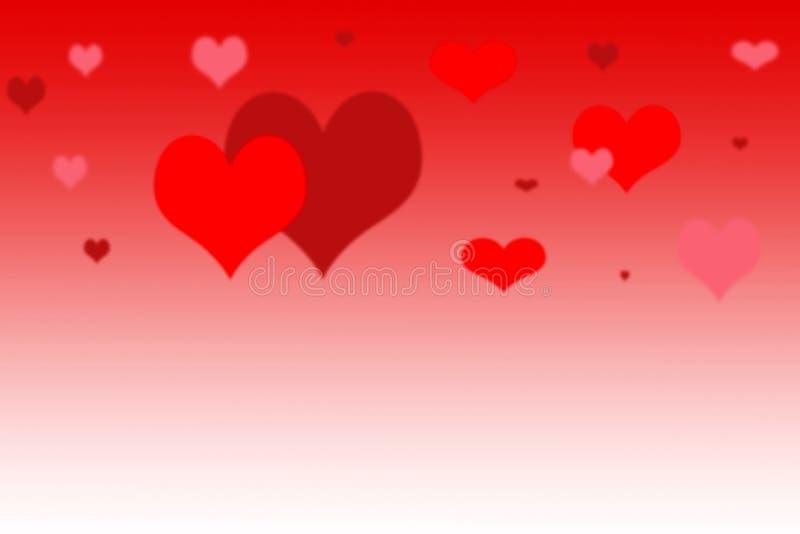 Abstrakter Hintergrund für Grüße glücklicher Valentinsgruß oder Hochzeit (MA stock abbildung