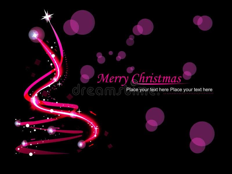 Abstrakter Hintergrund für neues Jahr und Weihnachten lizenzfreie abbildung