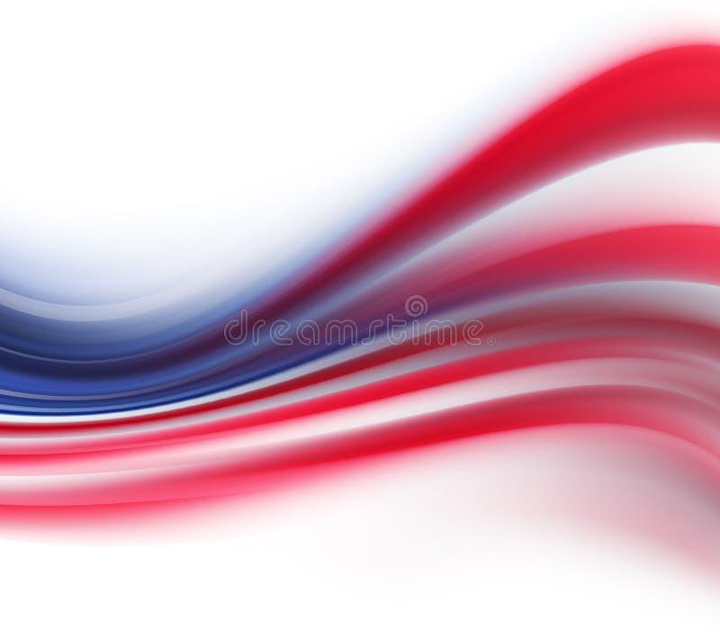 Abstrakter Hintergrund für Unabhängigkeitstag vektor abbildung