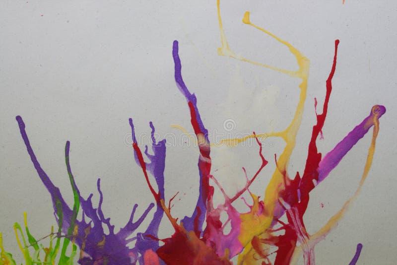 Abstrakter Hintergrund gemacht durch Wasserfarbe vektor abbildung