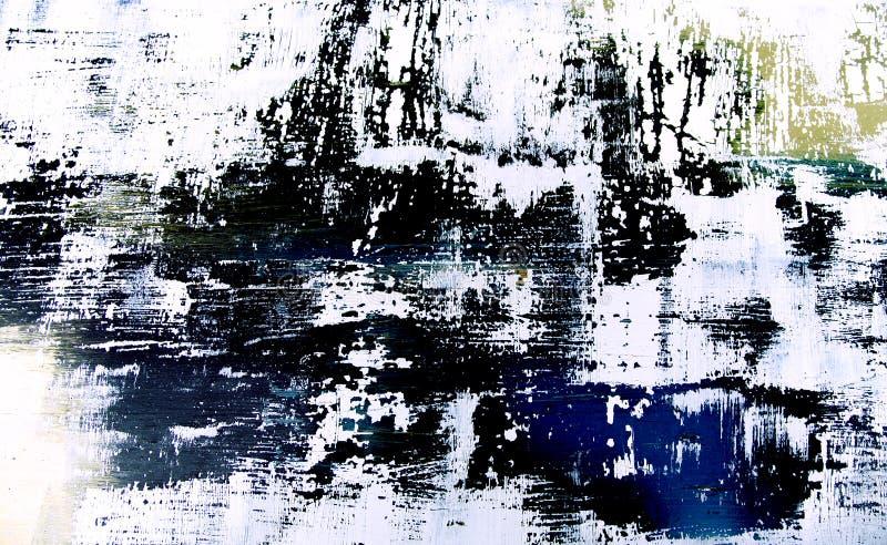 Abstrakter Hintergrund - künstlerische Malerei lizenzfreie stockfotografie