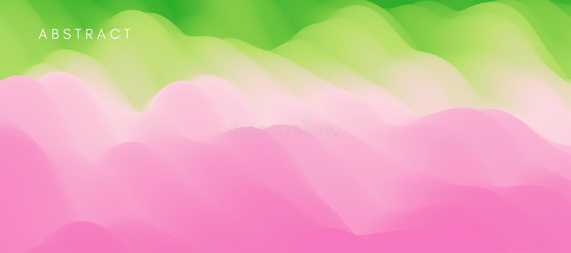 Abstrakter Hintergrund mit dynamischem Effekt Modernes Muster Vektorabbildung f?r Auslegung stock abbildung