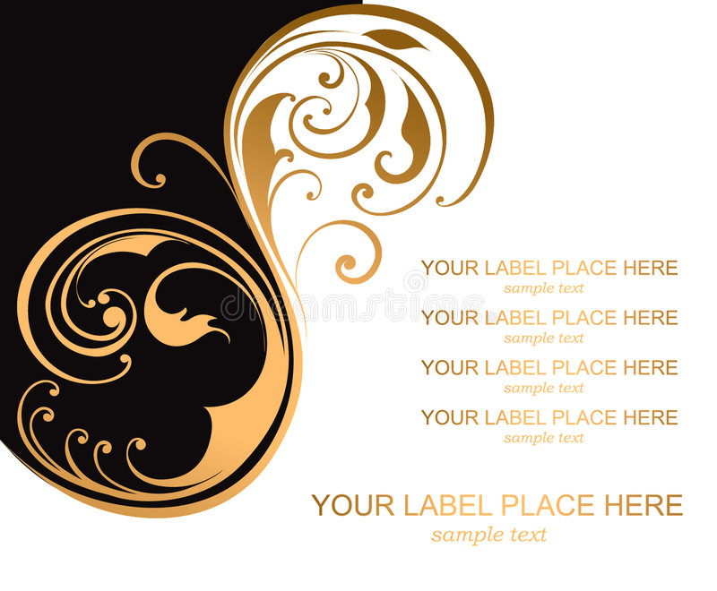 Abstrakter Hintergrund mit einem Muster. stock abbildung