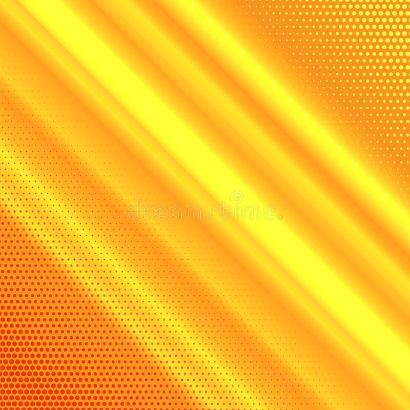 Abstrakter Hintergrund mit Halbtonpunktdesign stock abbildung