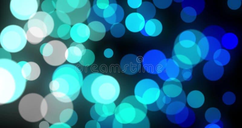Abstrakter Hintergrund mit lebhafter glühender purpurroter magentaroter weißer bokeh Schleife, Alpha lizenzfreie abbildung