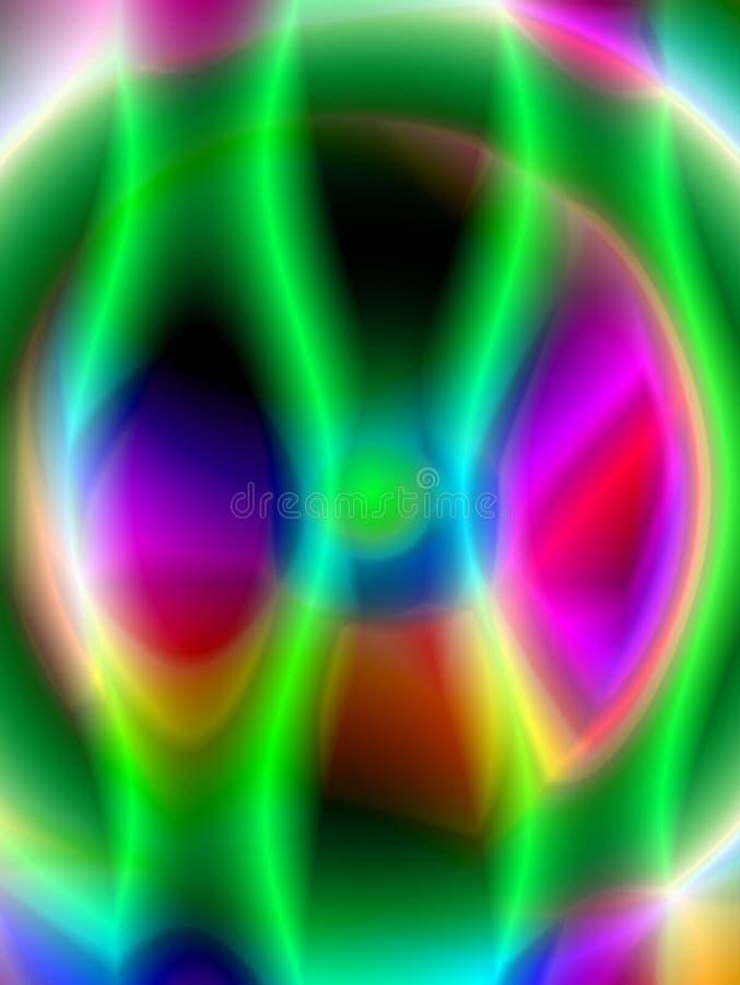Abstrakter Hintergrund mit mehrfarbigen Flecken lizenzfreie abbildung
