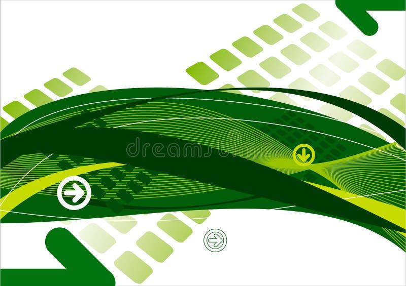 Abstrakter Hintergrund mit Pfeilen vektor abbildung