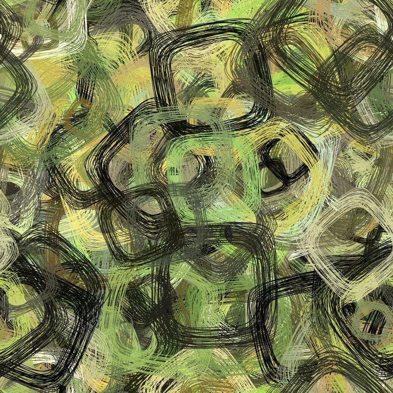 Abstrakter Hintergrund mit Quadraten lizenzfreie abbildung