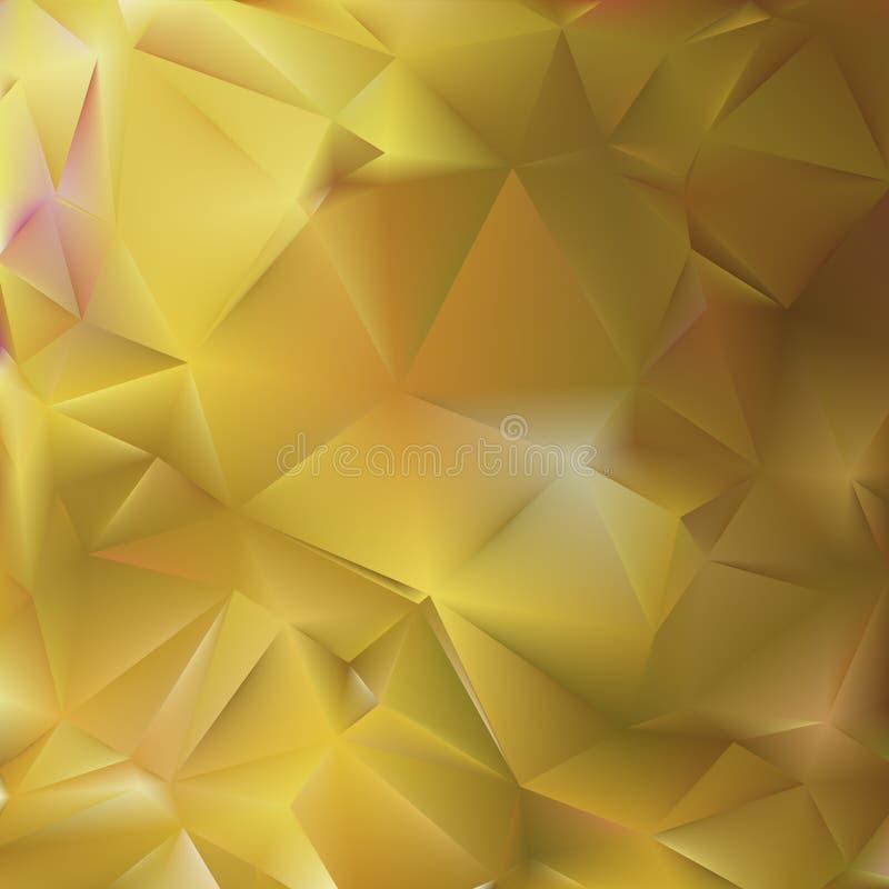 Abstrakter Hintergrund mit schillernder Maschensteigung stock abbildung