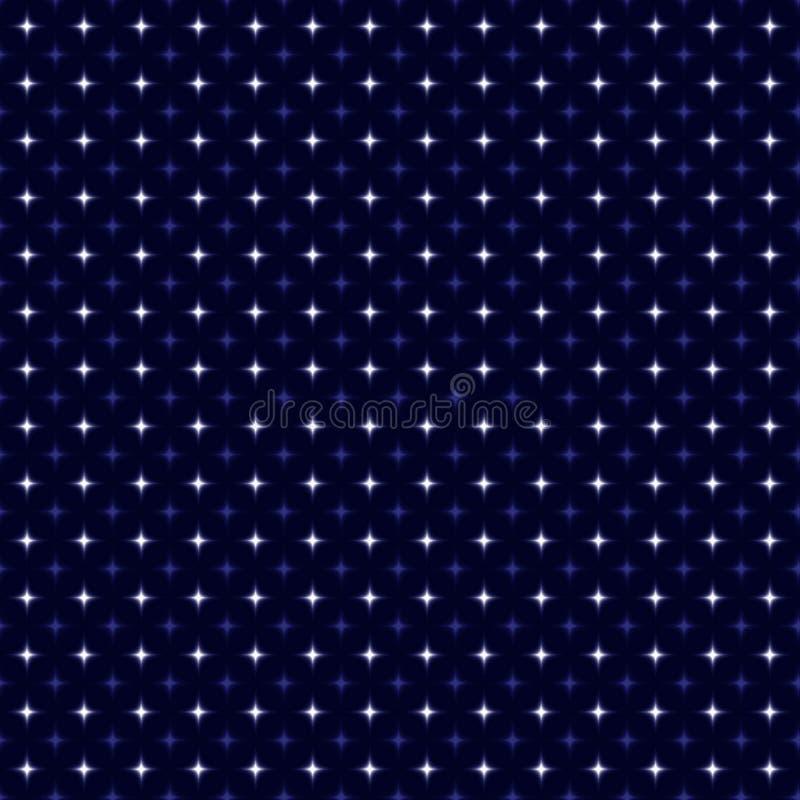 Abstrakter Hintergrund mit Sternen stock abbildung
