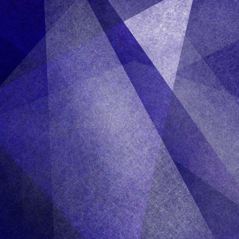 Abstrakter Hintergrund mit Unschärfe und weiße geometrische Dreiecke und Beschaffenheit lizenzfreie stockfotografie
