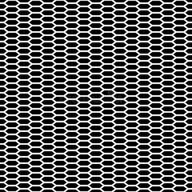 abstrakter Hintergrund Muster mit linearen Hexagonen vektor abbildung