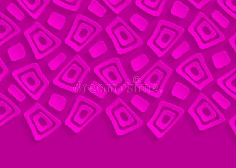 Abstrakter Hintergrund oder Wallpap vektor abbildung
