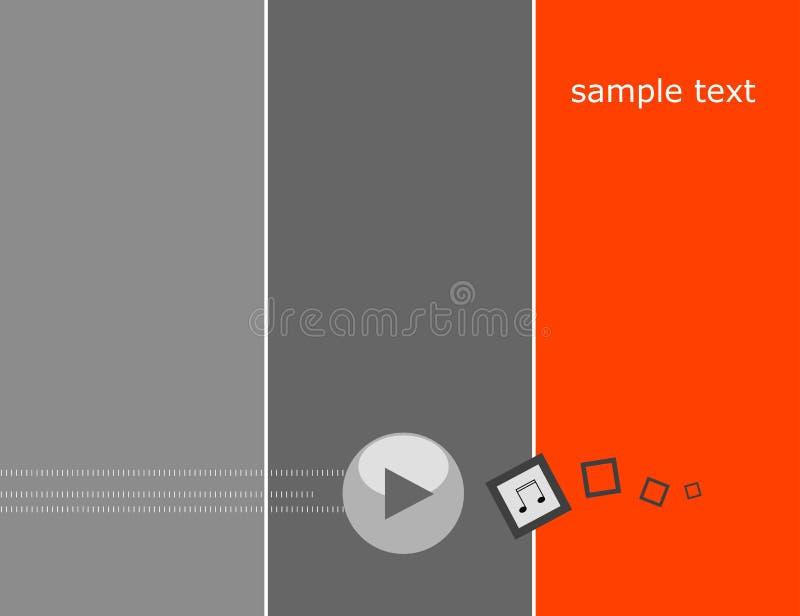 Abstrakter Hintergrund, Spiel stock abbildung
