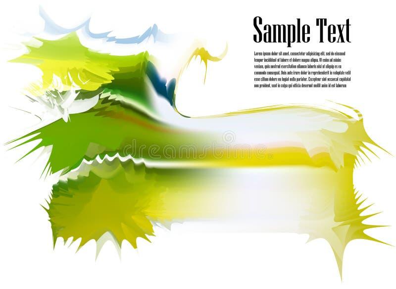 Abstrakter Hintergrund. Spritzentinte. vektor abbildung