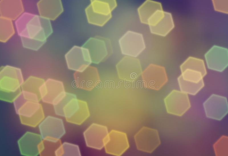Abstrakter Hintergrund, Tapetendesign, bokeh Effekt stock abbildung