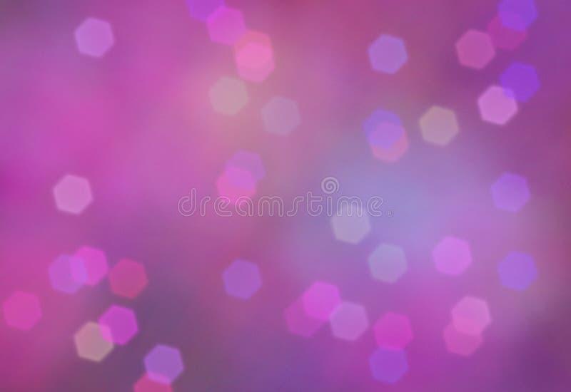Abstrakter Hintergrund, Tapetendesign, bokeh Effekt lizenzfreie abbildung