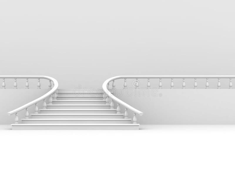 Abstrakter Hintergrund. Treppen lizenzfreie abbildung