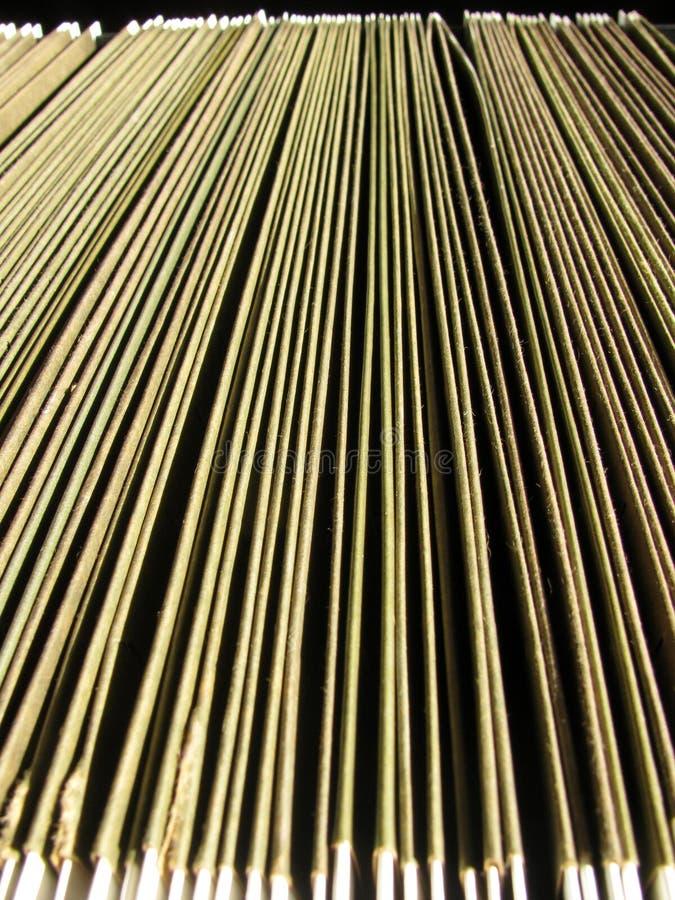 Abstrakter Hintergrund von Hängeregistern im Fach lizenzfreies stockfoto